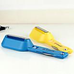 Fish Scales Shaver Fishing Knife Remover Cleaner Descaler Skinner Scaler (Random Color)