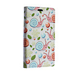 Green Snail Pattern Full Body Case for Microsoft Lumia 640