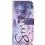 Fashio Design COCO FUN® Purple Dream Pattern PU Full Body Leather Case Cover for iPhone 6