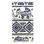 Elephant  Pattern TPU + IMD Soft Back Cover Case For Microsoft Lumia 435/Nokia N435