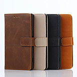 4.6 Inch Crazy Ma Pattern Luxury Genuine Leather Wallet Case with Stand for Sony Xperia A4(Assorted Colors)