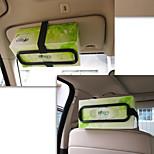 Tissue Box Clip For Vehicle Sunshade Board Paper Towel Rack Creative Car