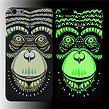 King Ⅱ Luminous Effect Fluorescent Glow In The Dark Back Hard Bak Cover Case for iPhone 5/5S/5G