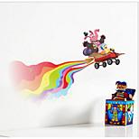 IINSIDE OUT Happy Movie Wall Sticker Kids Bedroom Decoration