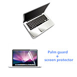 Super Slim Silver Palm Guard and HD Screen Protector for Macbook Air 11.6 inch