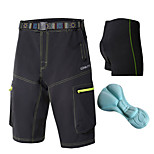 OUTTO Men's Summer Quick Dry Wicking Lightweight Materials Cycling Mountain Bike Baggy shorts with Free Undershorts
