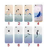 Cute Animal Transparent Back Case Cover for iPhone 6(Assorted Colors)