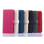 PU Leather Soft Half Body Case with Stand Cover for iPhone 6 Plus (Assorted Colors)