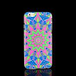 cubierta del patrón de flor mandala azteca para el iphone 6 para el iphone 6