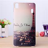 Paris Eiffer Tower Pattern TPU Soft Case for Lenovo K3 Note