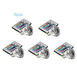 5개 MORSEN E26/E27 3 W SMD 2835 300-500 LM RGB PAR 장식 스팟 조명 AC 85-265 V