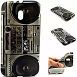 reproductores de casetes caja del teléfono patrón TPU para motorola g3