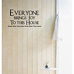 EVER YINE BRINGS JOY Decorative Wall Stickers