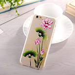 Orchid Pattern TPU Soft Case for iphone 6