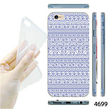 MAYCARI®National Pattern TPU Soft Back Case for iPhone 6