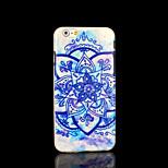 azteco copertura del modello mandala fiore per il iphone 6 per il iphone 6