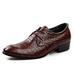 Men's Shoes Office & Career / Party & Evening / Casual Leather Oxfords Black / Brown