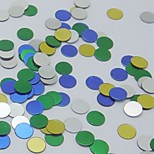 Round Multicolor Confetti for Party Birthday