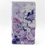 Good Life Pattern PU Leather Phone Case For LG G3/L90