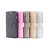 2015 Newest Flip Cover Stand Card Slot Diamond Fashion Mobile Phone Shell for iphone 5/5S Assorted Colors