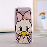 Duck Pattern TPU Soft Case for iPhone 5/5S
