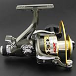 Most Popular Smooth Spinning Reel NARITA X5-4000 Gear Ratio 5.1:1 Fishing Reel  9+1 BB Carp Fishing Reel Bait Runner