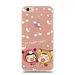 Super Star Pattern TPU Soft Case for iPhone 6
