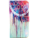 Fashion Design COCO FUN® Colorful Flower Pattern Wallet Slot Full Body PU Leather Case for LG G4