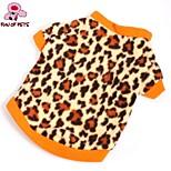 FUN OF PETS® Soft Fleece Shirt Hoody Leopard Shirt for Pet Dogs (Assorted Sizes)
