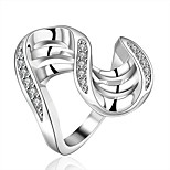 Women's Vintage Luxury 925 Silver Plated Ring