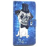 Fashion Design COCO FUN® Cute Dog Pattern Wallet Slot Full Body PU Leather Case for LG G4