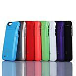 3500mAh externe bewegliche Unterstützungsbatterie Fall für iphone6s (verschiedene Farben)