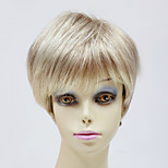 Capless Top Grade Synthetic Blonde Short Straight Synthetic Wigs for Womens