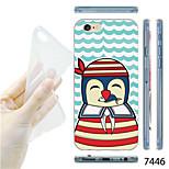 MAYCARI®Sea Lions Sailor Pattern TPU Soft Transparent Back Case for iPhone 6