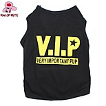 FUN OF PETS® Cool VIP Pattern Cotton Vest for Pets Dogs(Assorted Sizes)