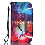 EFORCASE® Diamond Star Split Lanyard Painted PU Phone Case for iphoneSE/5S/5/6/6S/6plus/6S plus