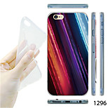 MAYCARI®Color Light Pattern TPU Soft Back Case for iPhone 6