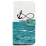 Fashion Design COCO FUN® No Sink Anchor Pattern Wallet Slot Full Body PU Leather Case for LG G4