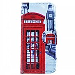 Special Design High-Grade PU Leather Material 3D Print Full Body Case Shatter-Resistant Case  for  iPhone 5/5S