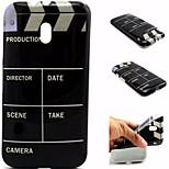 la caja del teléfono del tpu patrón de la película para motorola g3