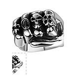 Ring Stainless Steel Skull / Skeleton Silver Jewelry Halloween Daily Casual Sports 1pc