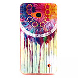Colorful  Pattern TPU + IMD Phone Case For Nokia N640