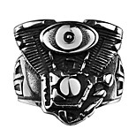Ring Jewelry Steel Fashion Black Jewelry Wedding Party Halloween Daily Casual Sports 1pc