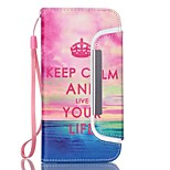 EFORCASE® Crown Life Split Lanyard Painted PU Phone Case for iphoneSE/5S/5/6/6S/6plus/6S plus
