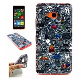 Life  Pattern TPU + IMD Phone Case For Nokia N640