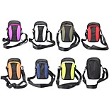 Outdoor Activities 5.5 Inch Diagonal Universal Serial Color Arm Band Hanging Bag Waist Mountaineering(Assorted Colors)
