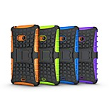 Heavy Tire Duty Defender Case With Stand TPU&PC Hybrid Armor Shockproof Protective Case for Lumia 540
