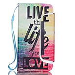 EFORCASE® Sea Life Split Lanyard Painted PU Phone Case for iphoneSE/5S/5/6/6S/6plus/6S plus