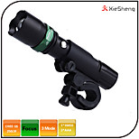 3 Mode 250 Lumens LED Flashlights 18650/AAA Adjustable Focus/Waterproof/Rechargeable/Impact
