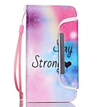 EFORCASE® Stay Strong Split Lanyard Painted PU Phone Case for iphoneSE/5S/5/6/6S/6plus/6S plus